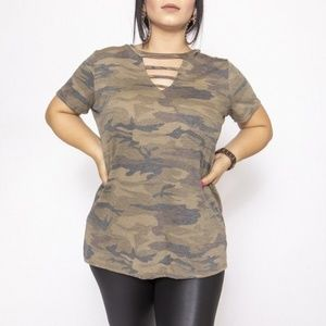 Camouflage Dress/Top